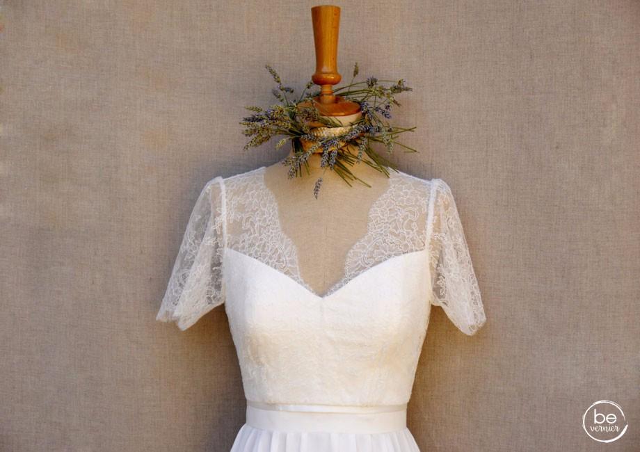 robe de mariée be vernier