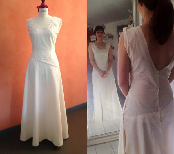 robe de mariée personnalisée pièce unique sur mesure
