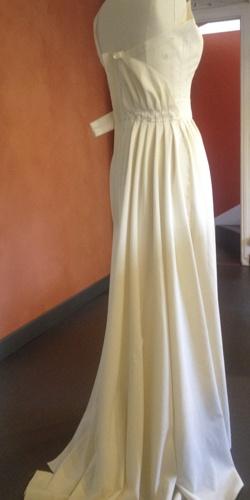 jupe en toile a patron sur mannequin de couture cree par be vernier